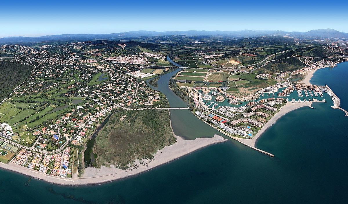Sotogrande aerial view