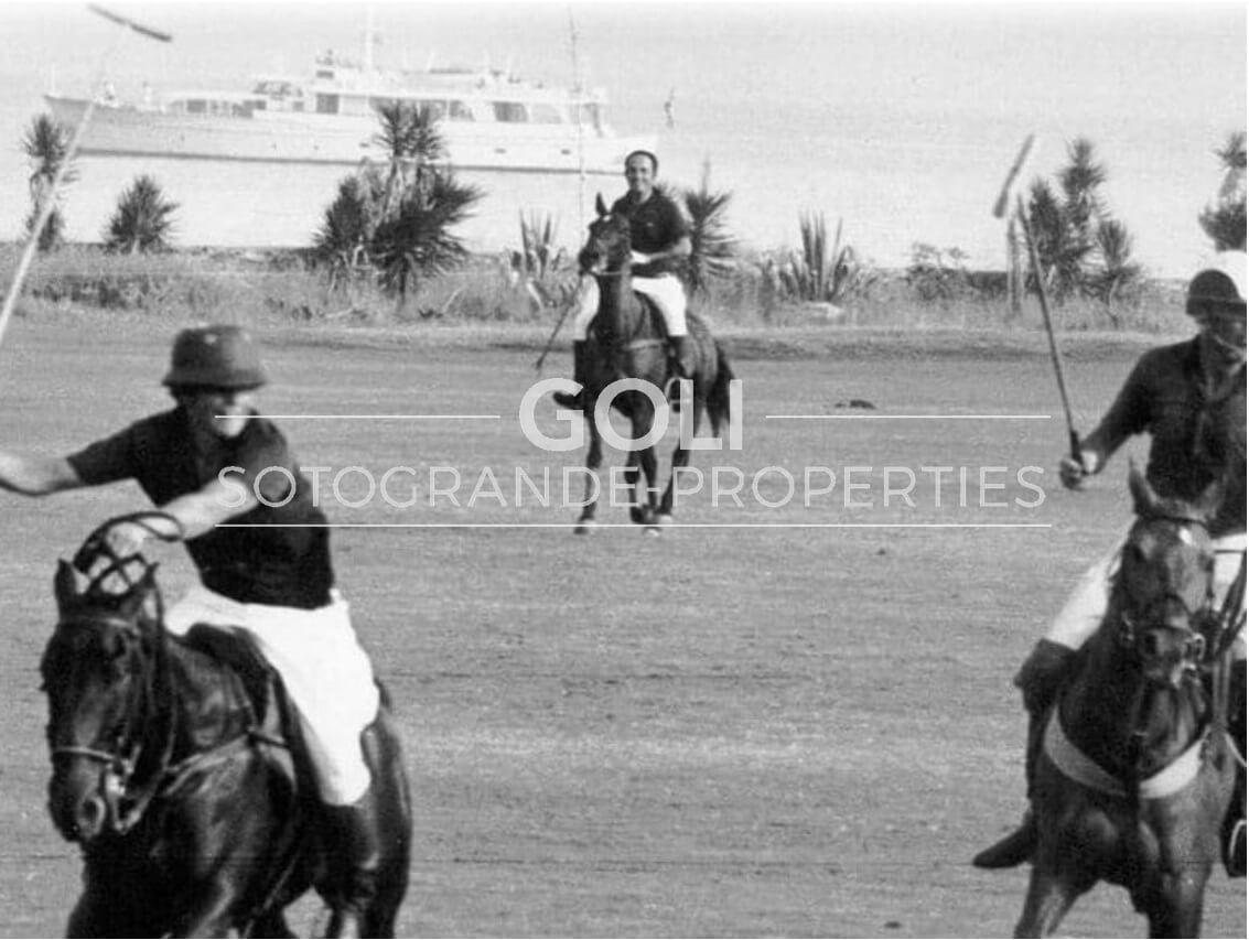 Polo in Sotogrande - 80s